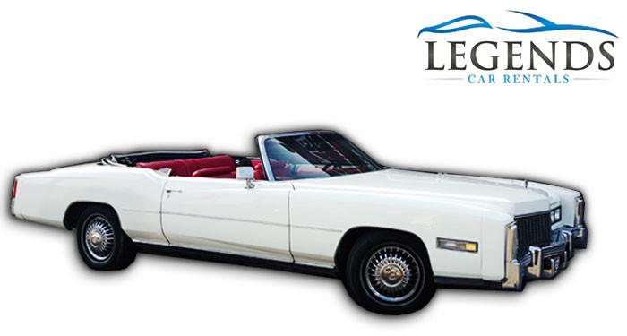 1976 Cadillac Eldorado Convertible For Rent
