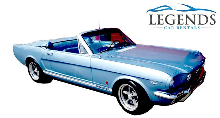 1965 Ford Mustang GT Convertible Blue V8 289