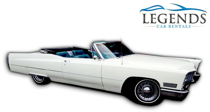 1967 Cadillac DeVille Convertible White