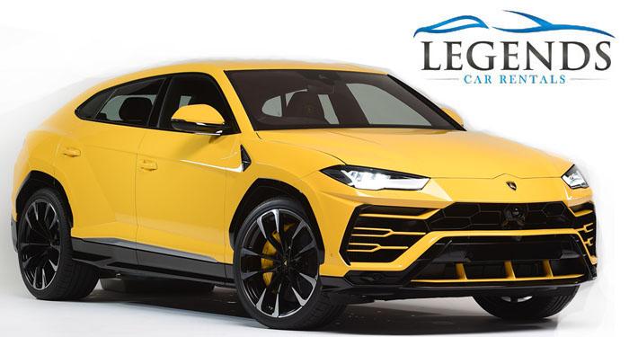 Lamborghini Urus Yellow