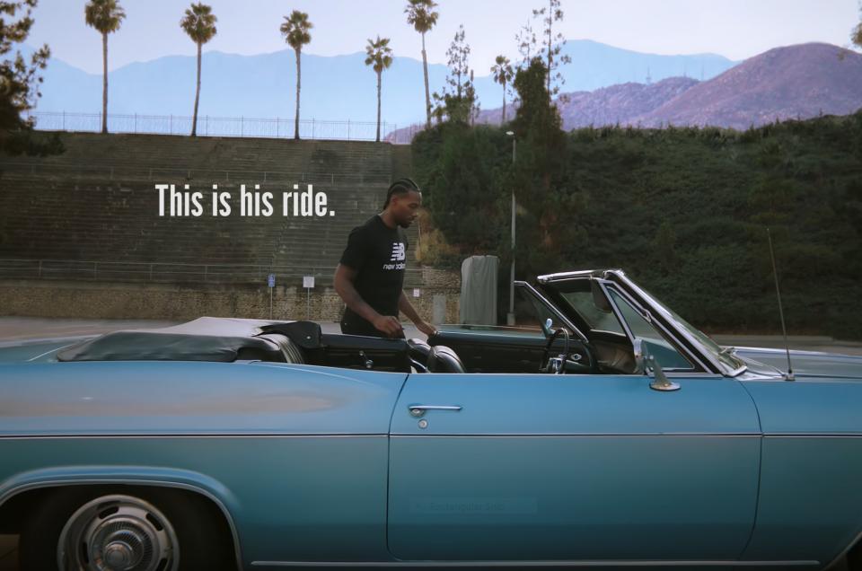 Our 1966 Impala in New Balance (video) Ad w/ Kawhi Leonard: Reign Over LA